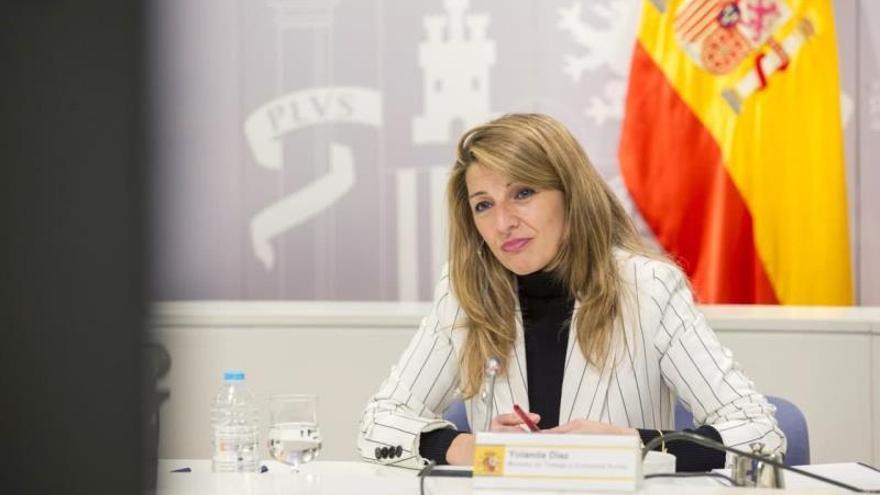 """Yolanda Díaz: """"No llega solo con los ERTE; ahora mismo necesitamos más"""""""