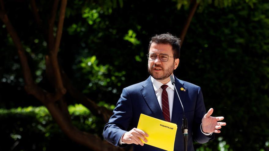 El Parlament investirá esta misma semana a Aragonès como presidente de la Generalitat