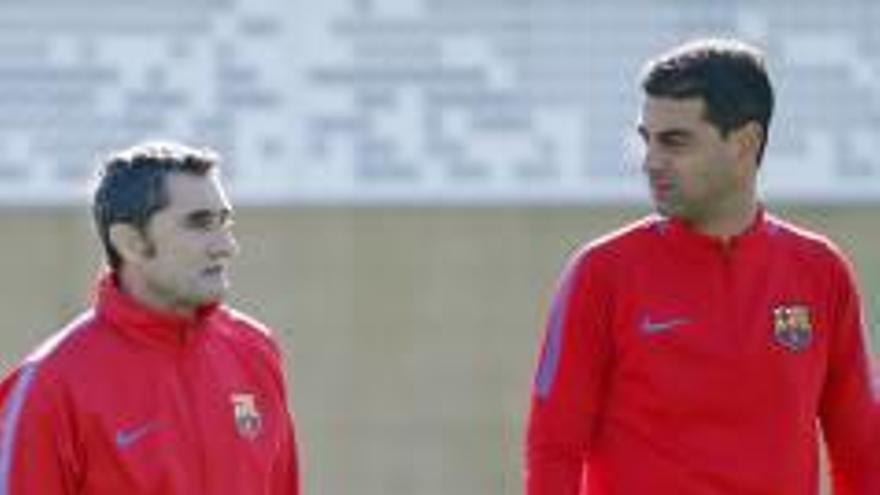 Quatre futbolistes del primer equip del Barça s'entrenen amb Gerard i el filial