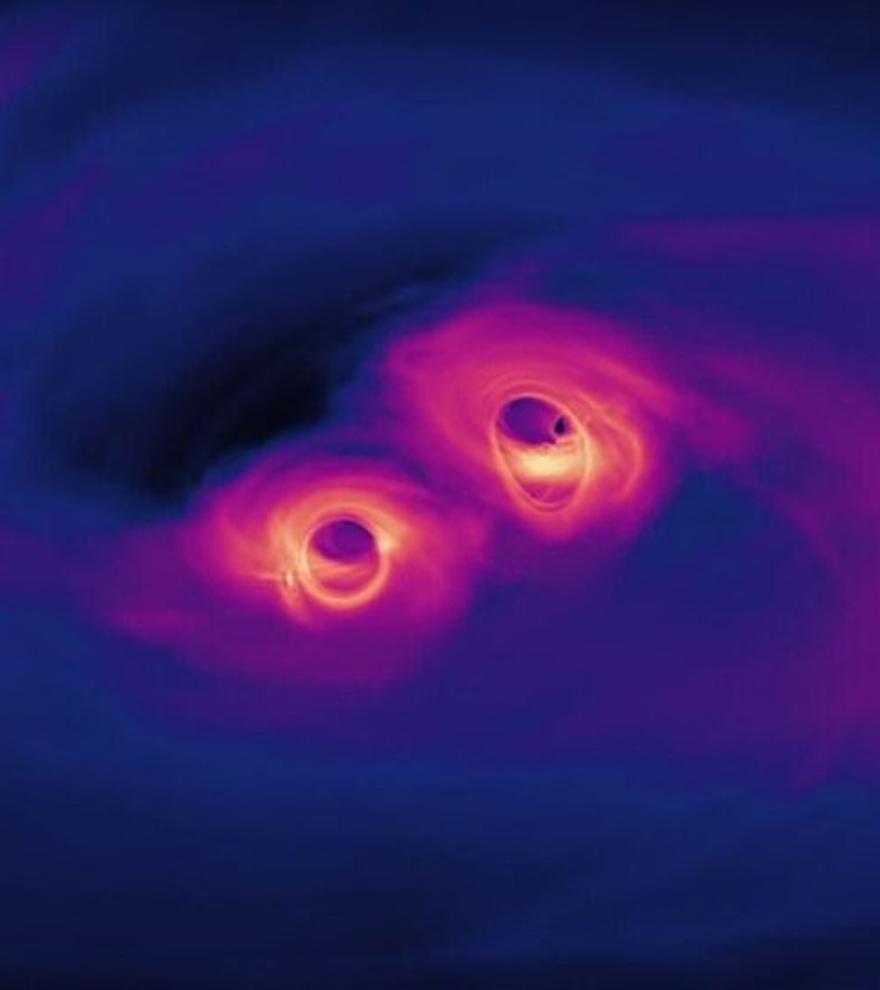 El zumbido del universo destapa las ondas gravitacionales