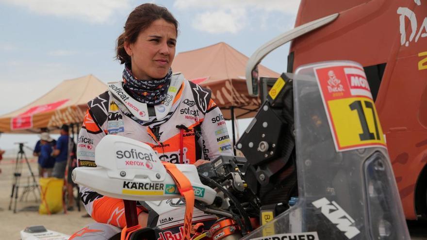 Laia Sanz renuncia al Dakar en moto