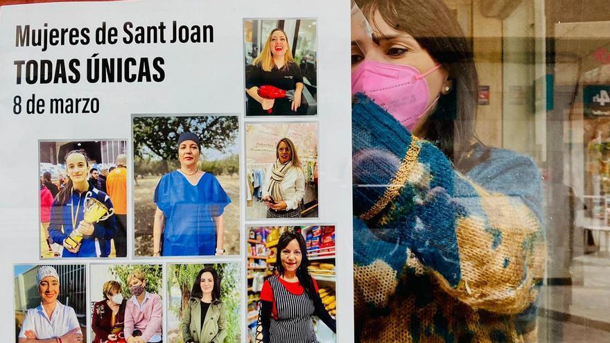 """Sant Joan edita un cartel el 8-M que """"huye de partidismos"""""""
