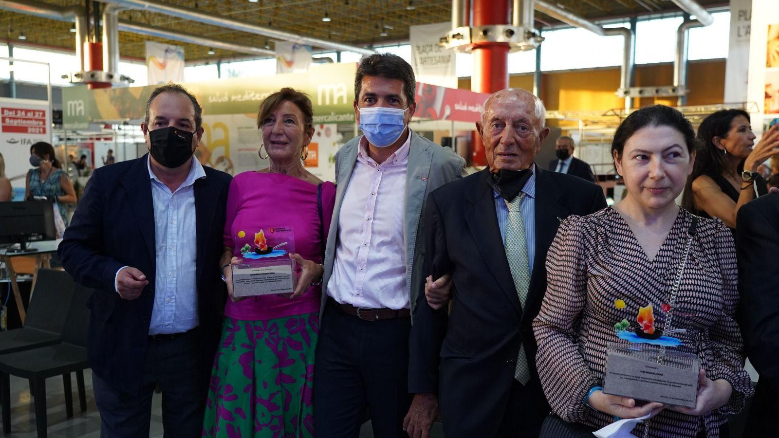 Homenaje a José Enrique Garrigós en el cierre de Alicante Gastronómica