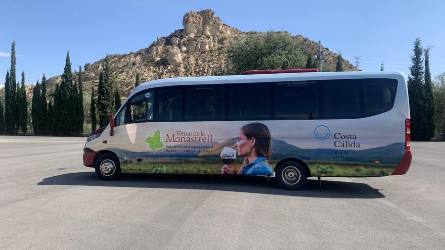 Súbete al bus del vino de la Región de Murcia
