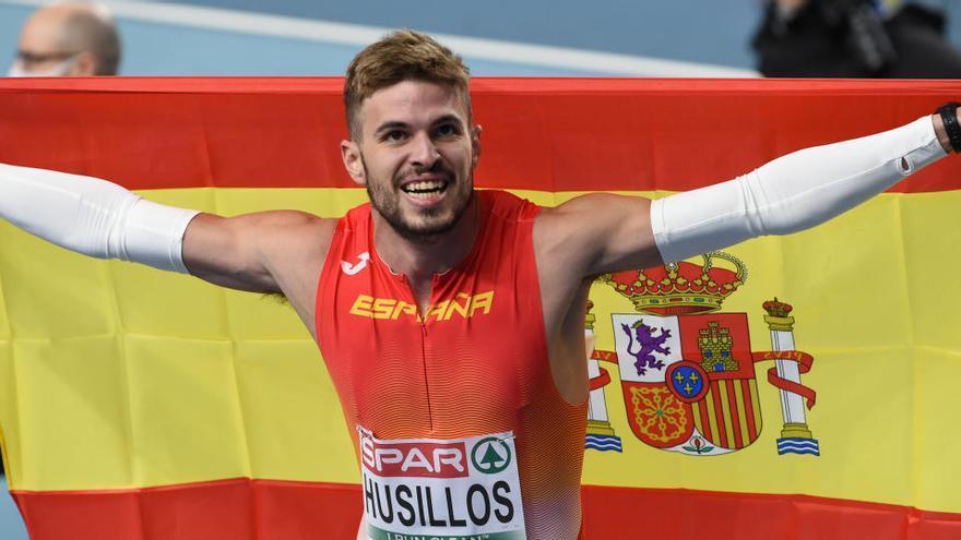 Óscar Husillos se proclama campeón de Europa de 400 metros