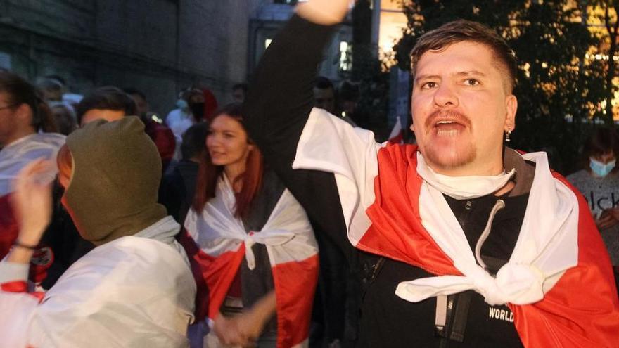 Al menos 194 detenidos en las protestas contra Lukashenko