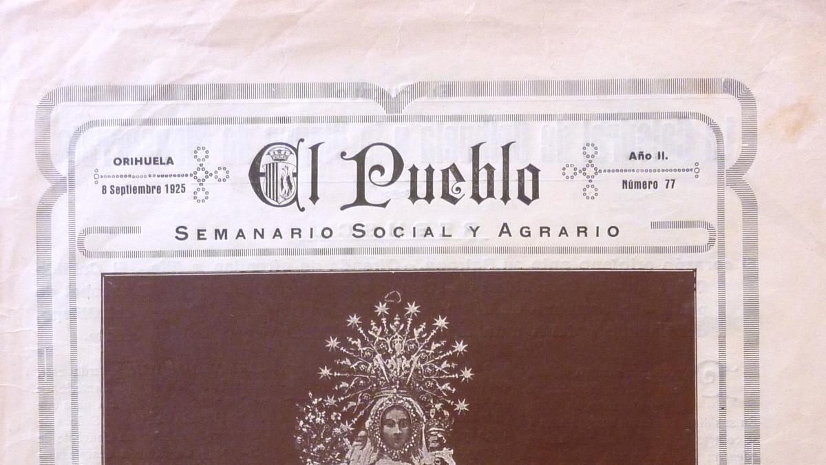Portada de El Pueblo /Colección A. L. Galiana
