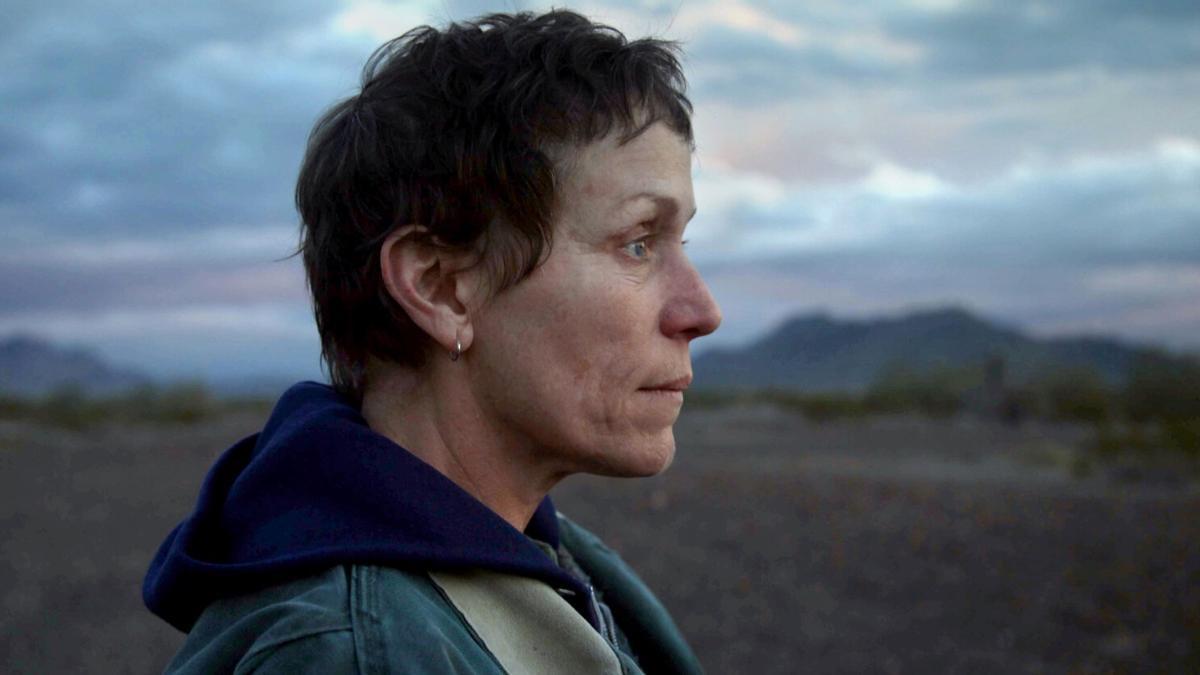 Una de las escenas de 'Nomadland', la favorita de los Oscar.