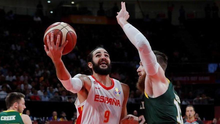 España tumba a Australia tras dos prórrogas y jugará la final contra Argentina