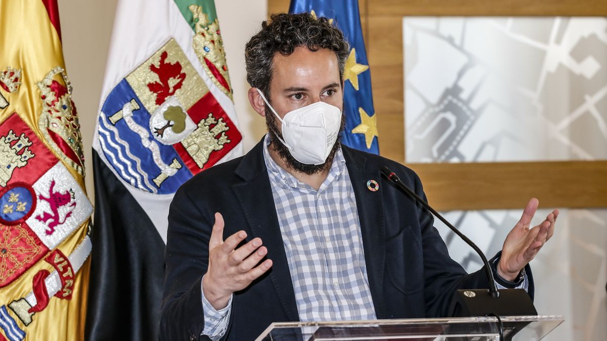 El portavoz municipal, Andrés Licerán