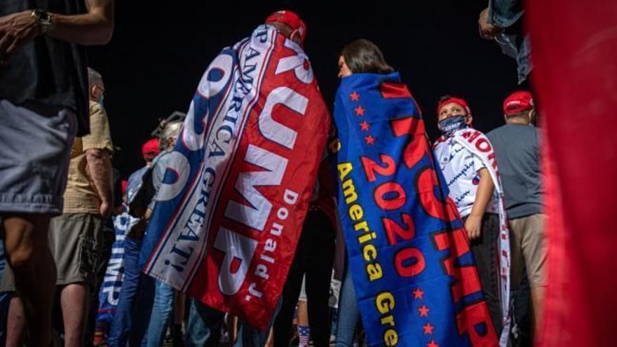 La tensión y la participación se disparan en Estados Unidos a un día de las elecciones