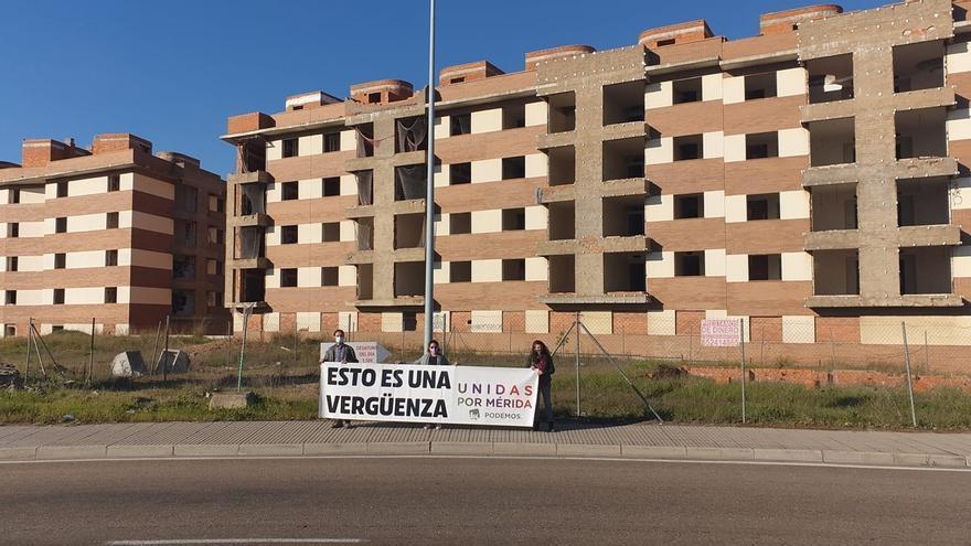 Unidas por Extremadura solicita a la Junta que adquiera los terrenos de Los Álamos