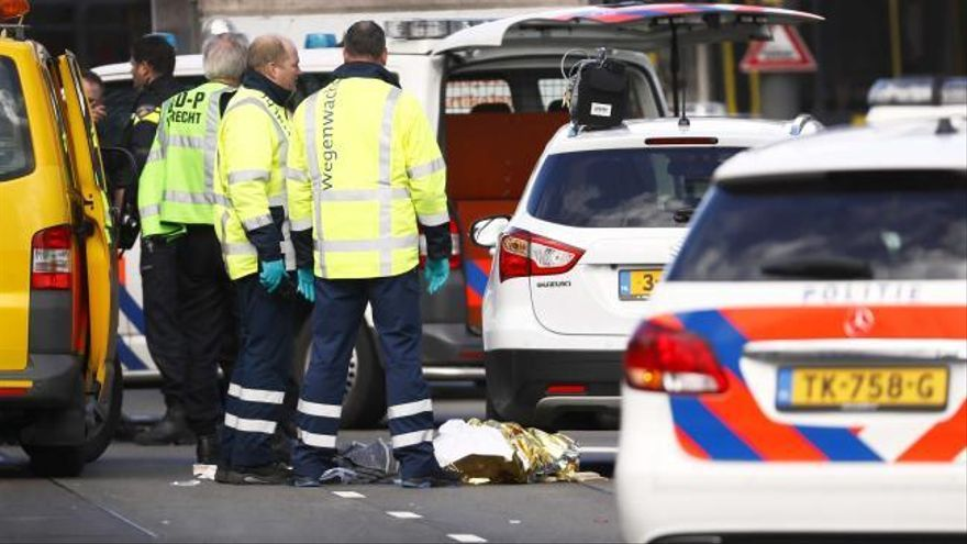 Al menos un muerto y varios heridos en un tiroteo en Utrecht