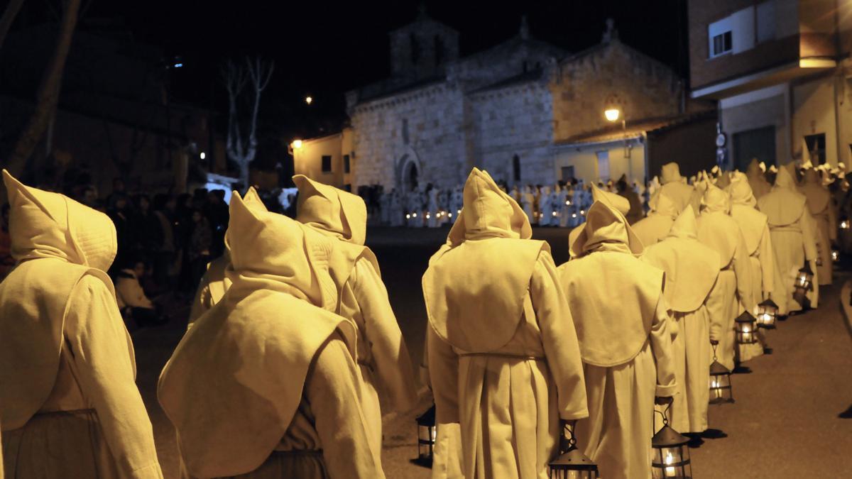 Una procesión de Zamora.