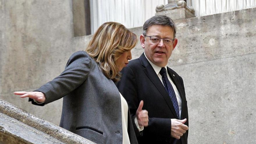 Afines de Díaz y Sánchez pugnan por el voto de los indecisos en Castellón