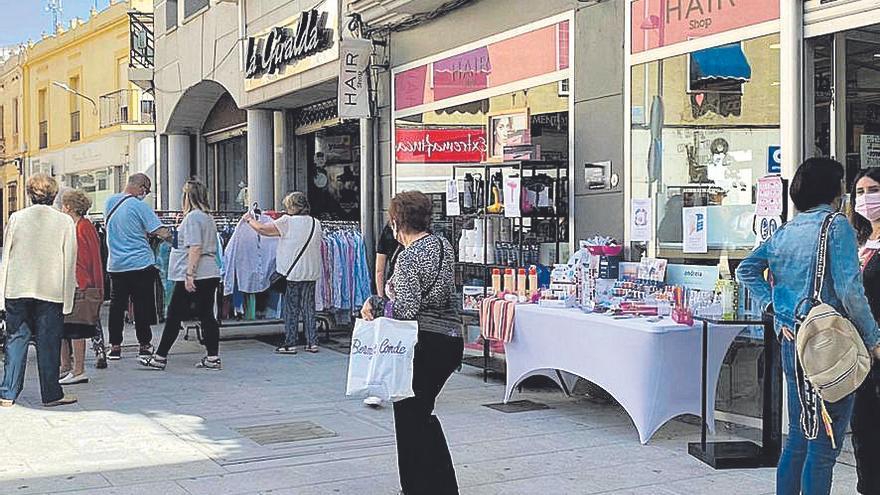 Nueva salida a la calle del comercio de Villanueva para animar las ventas