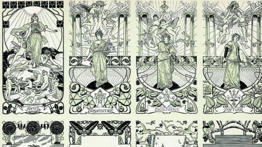 Al·legories,  art i mitologia