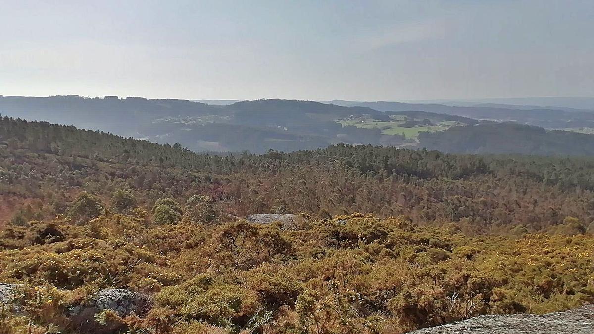 Vistas desde Monte do Gato.  | // LA OPINIÓN