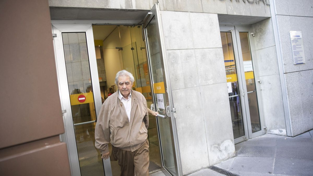 El exconsejero Riopedre en su última comparecencia en el Juzgado.