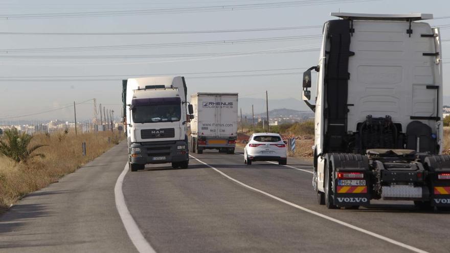 El tráfico de camiones en Parc Sagunt ya duplica al de años anteriores