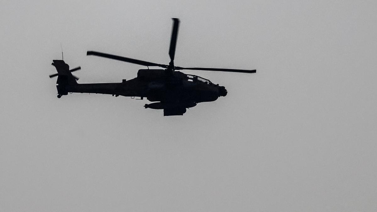 Imagen de archivo de un helicóptero.