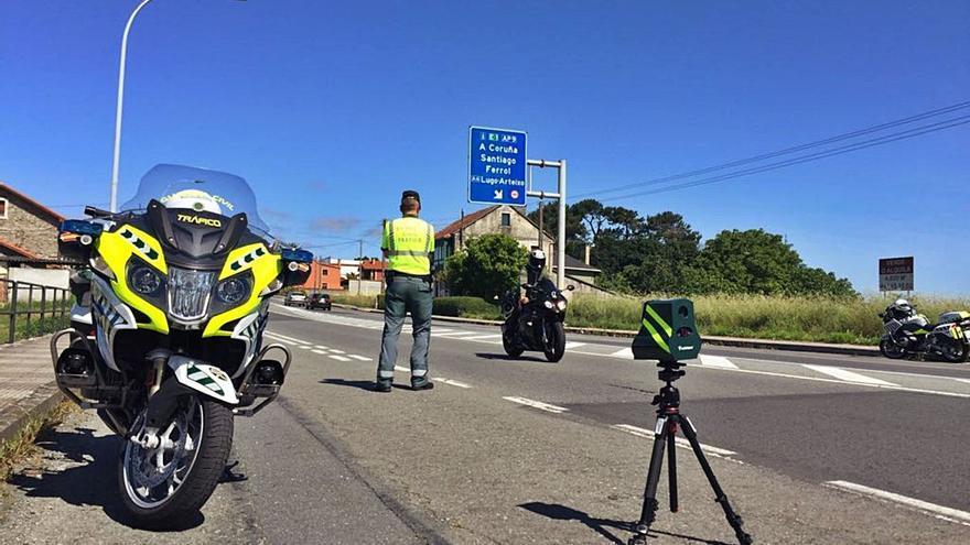 Galicia suma el 30% de las multas por velocidad de toda España
