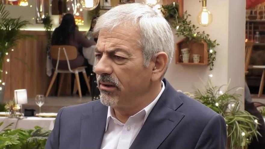 El inesperado comentario de Carlos Sobera en 'First Dates' que sorprendió a Matías Roure