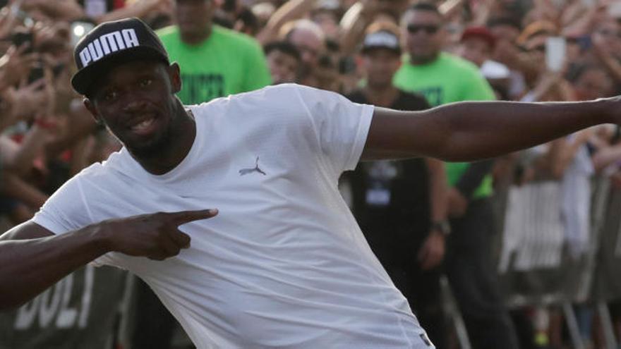 Usain Bolt habla sobre sus posibilidades de volver