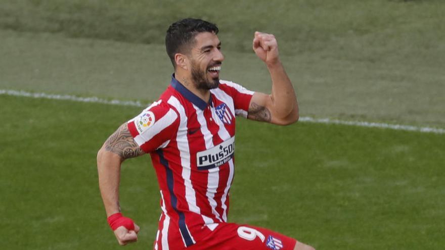 Todos los goles de la jornada 21 de LaLiga: Suárez afianza al Atlético con su doblete