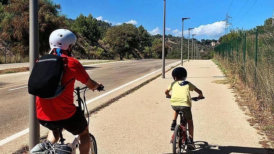 La petición de un niño para tener un carril bici llega al alcalde de Palma