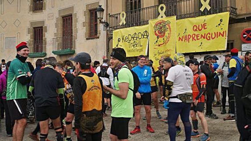La Kedada Trail  a Castellterçol recull 6.667  quilos d'aliments