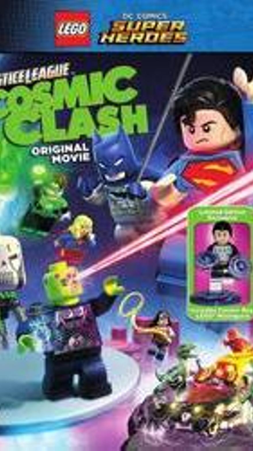 LEGO DC Super Heroes: La liga de la justicia. La invasión de Brainiac