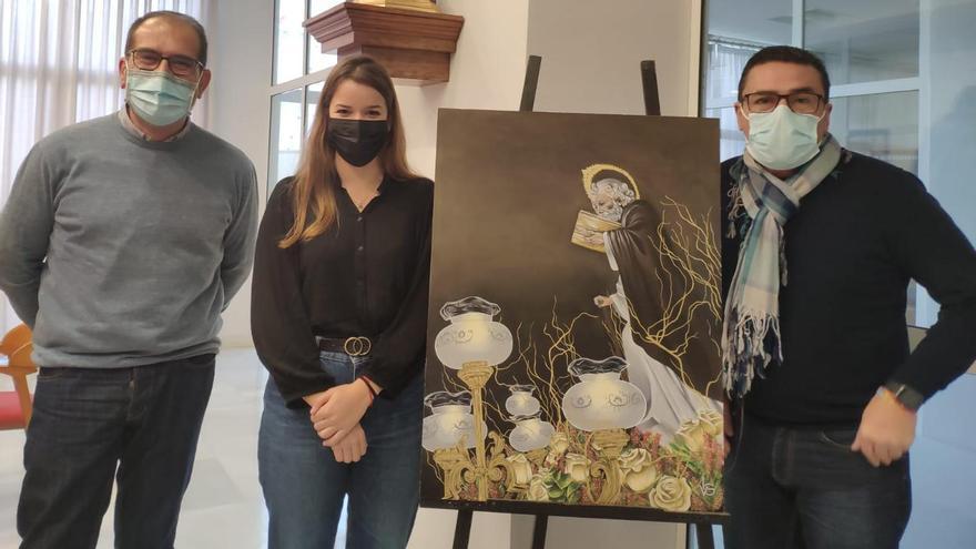 Elda cumple con la tradición del cuadro y el calendario de San Antón