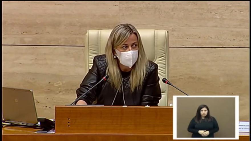 Martín afea a los diputados los comentarios sobre la falda de una consejera