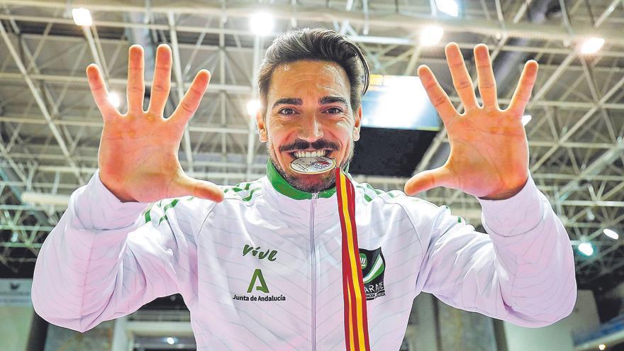 Damián Quintero, campeón de España de katas