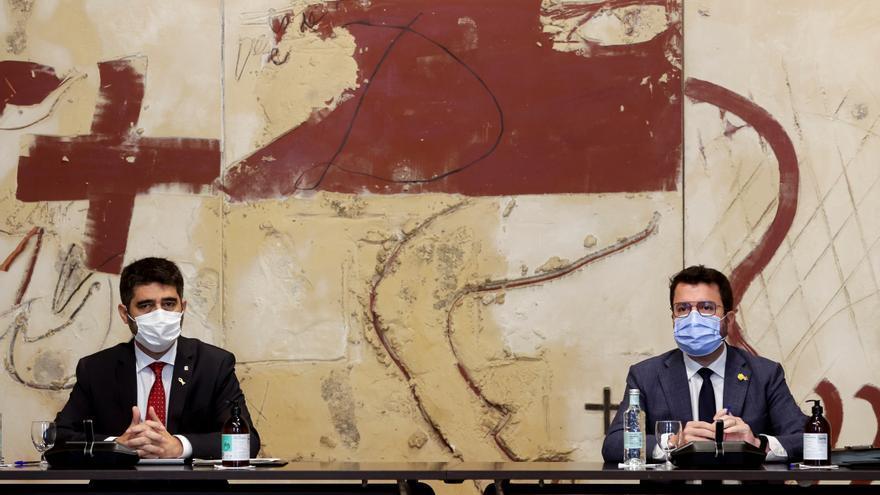 Aragonès deja a Junts fuera de la Mesa de Diálogo