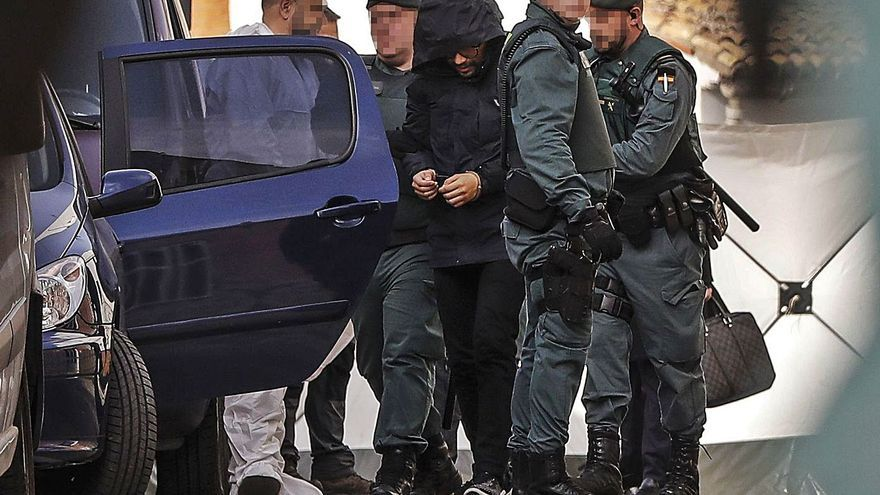 Traslladen a la presó d'Albocàsser el presumpte assassí de Marta Calvo