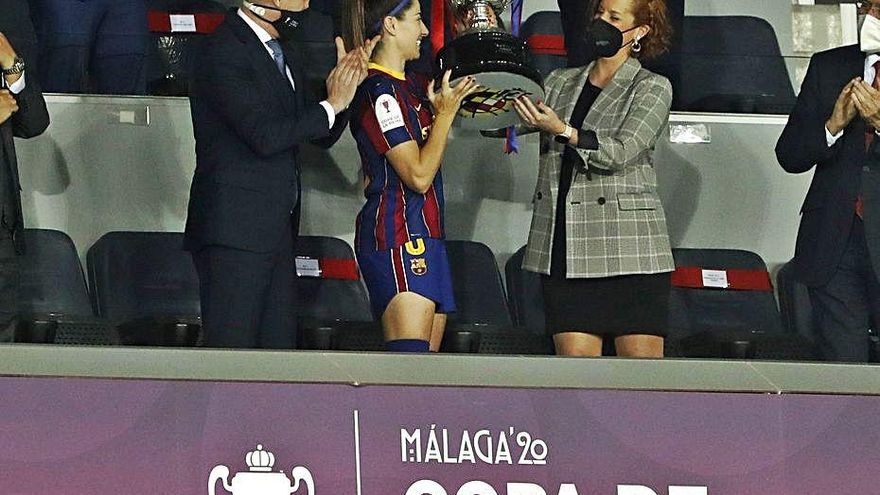 El Barça referma el seu domini i aixeca la Copa del curs passat