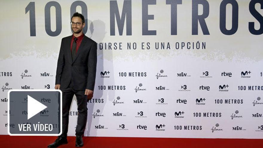 Dani Rovira planta cara a la esclerosis múltiple en '100 metros'