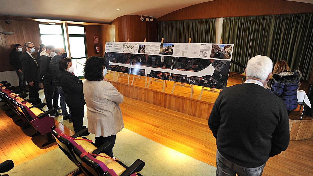El proyecto de remodelación estuvo expuesto en la Casa da Cultura en noviembre.    // BERNABÉ/JAVIER LALÍN