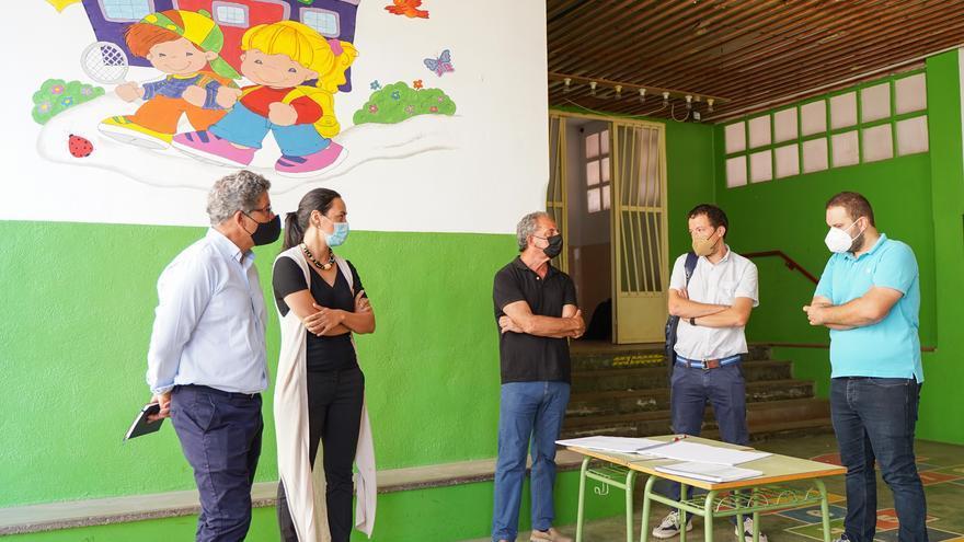Empiezan las obras de rehabilitación del colegio Herrero de Castelló