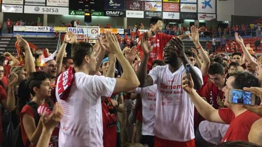 Així serà la festa per celebrar l'ascens del Bàsquet Manresa a l'ACB