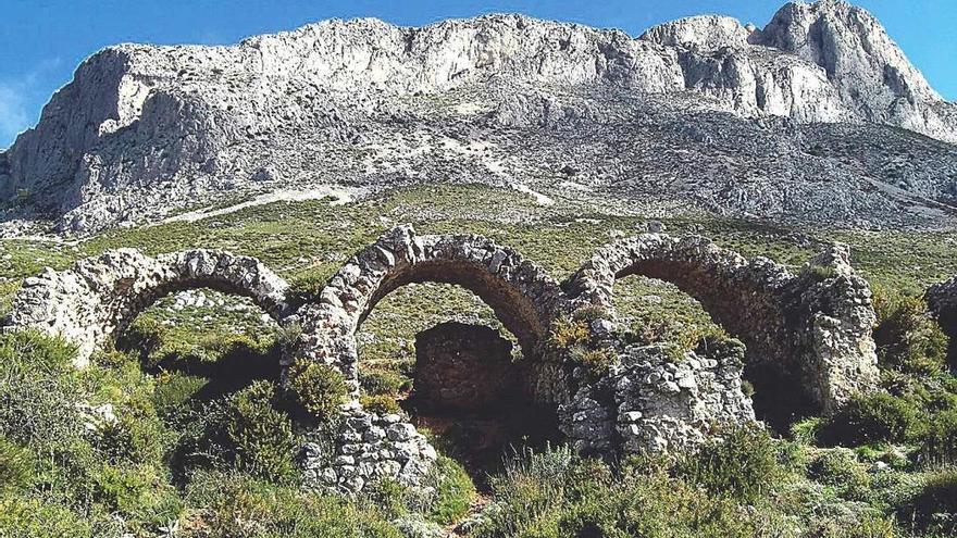 Seis rutas para descubrir Benissa: Bèrnia, la Solana, Oltà, el Molí del Quisi, las Ermitas y els Riberers