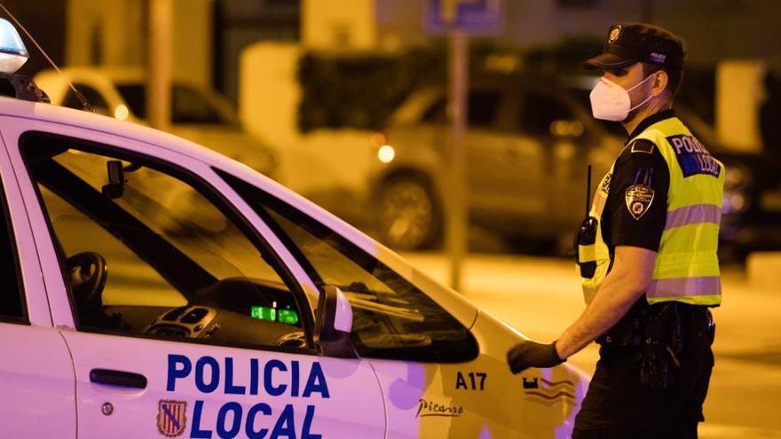 La Policía de Sant Josep dobla las intervenciones por seguridad ciudadana