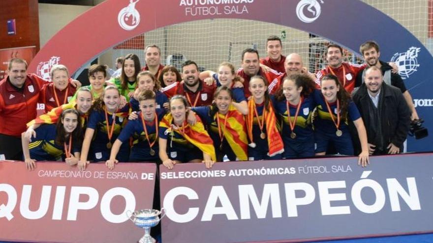 Catalunya sub-16 femenina és campiona estatal amb el tècnic olesà Jordi Barrero