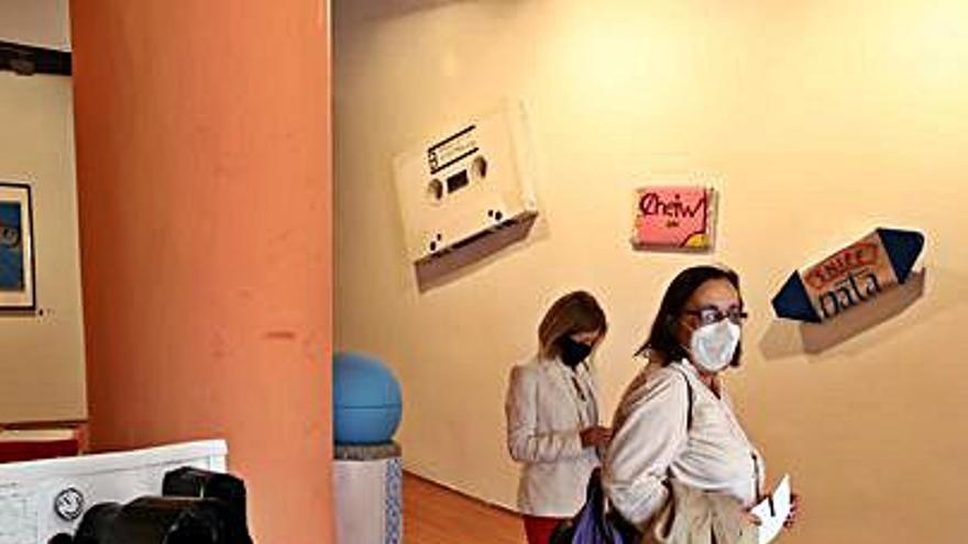 Jóvenes artistas en el Espacio Astragal