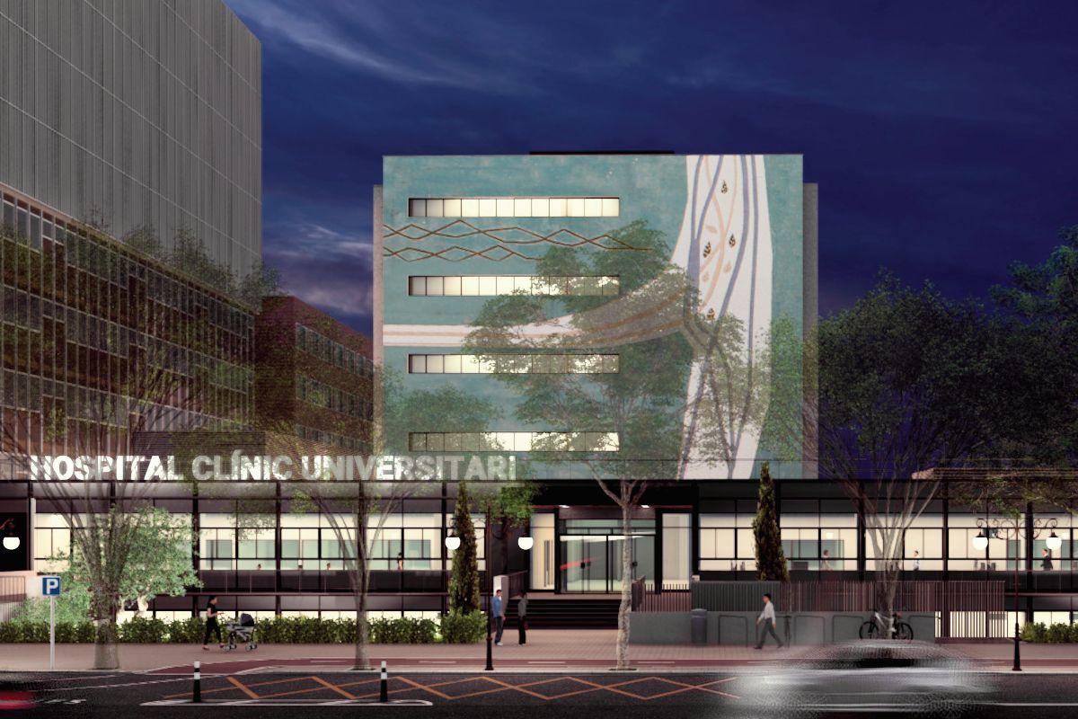Así será la ampliación del Hospital Clínico de València en la antigua Facultad de Agrónomos