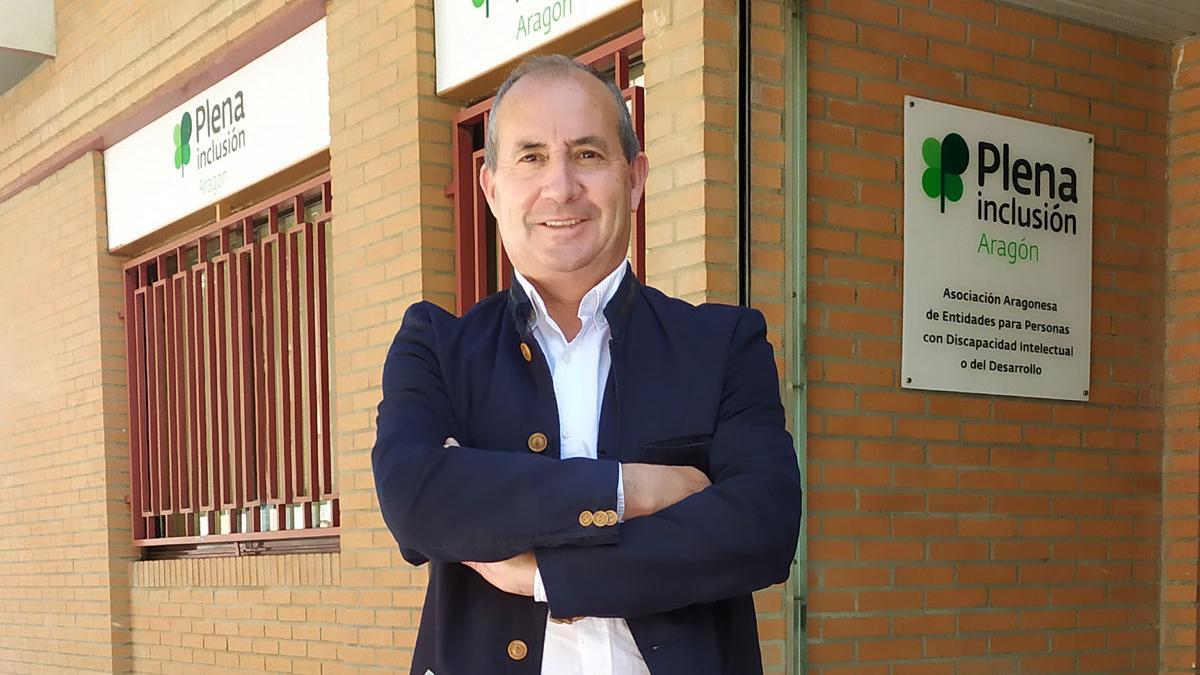 Santiago Villanueva. Presidente de Plena Inclusión Aragón