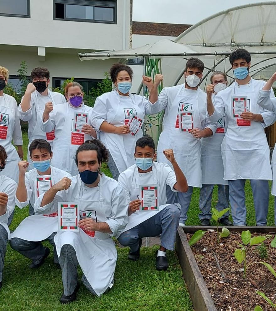 Los futuros 'chefs' gallegos que conquistan Europa