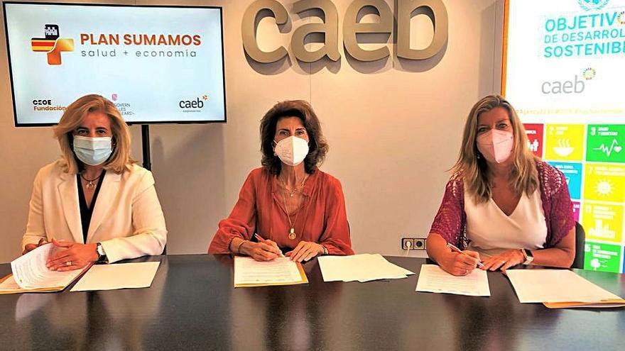 Las empresas de Baleares colaborarán en la vacunación para elevar su ritmo un 20%